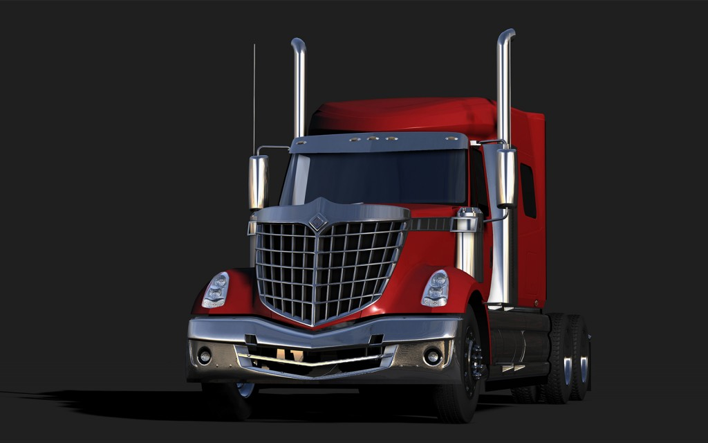 A Maya render of another cool but only semi-finished truck