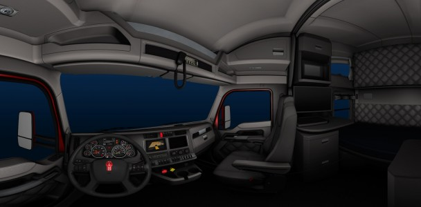 ATS trucks interior by ATS team-3