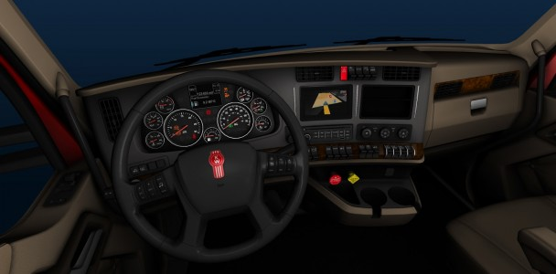ATS trucks interior by ATS team-4