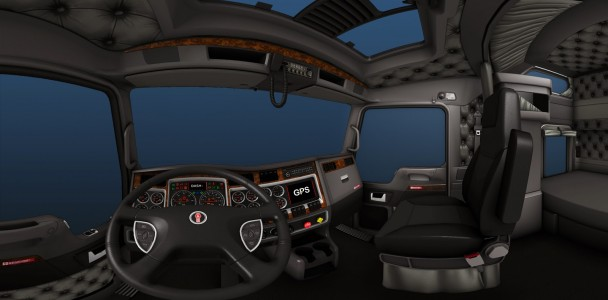 ATS trucks interior by ATS team-6