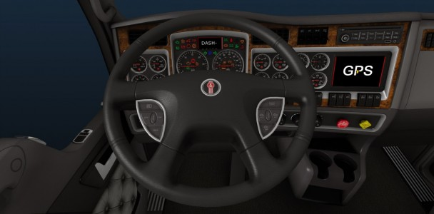 ATS trucks interior by ATS team-7