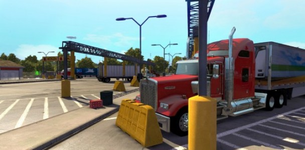 American Truck simulator will starts with Kenworth Truck