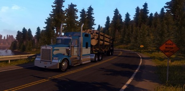 American Truck simulator will starts with Kenworth Truck-1