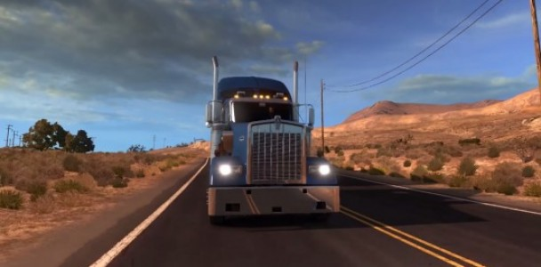 American Truck simulator will starts with Kenworth Truck-3