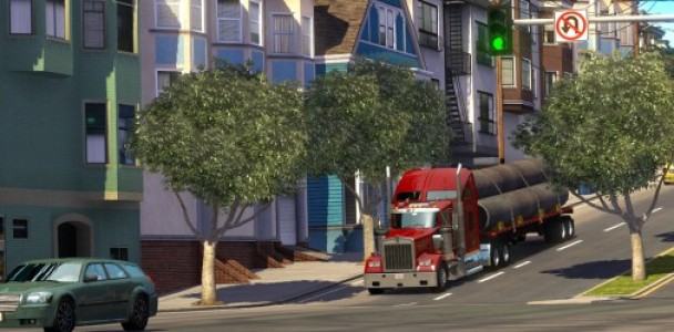 American Truck simulator will starts with Kenworth Truck-4