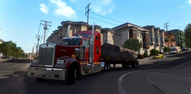 American Truck simulator will starts with Kenworth Truck-5