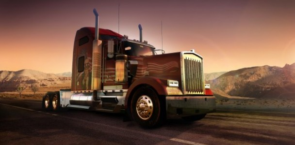 American Truck simulator will starts with Kenworth Truck-7