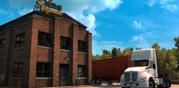 Compares semi-trailer lengths between ATS and ETS-1