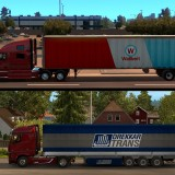 Compares semi-trailer lengths between ATS and ETS