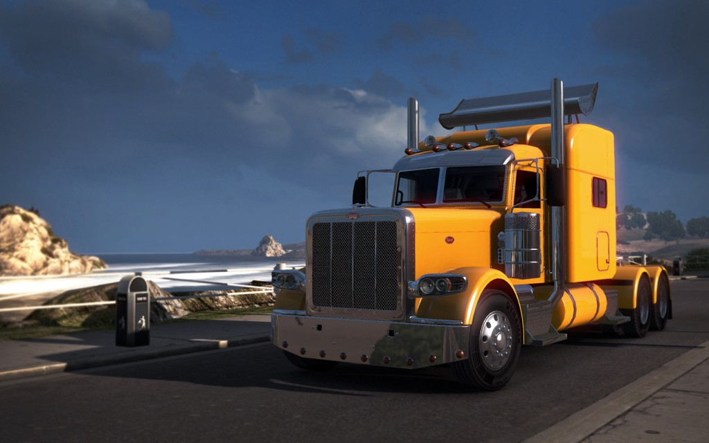 Peterbilt 389 will appear in ATS soon courtesy of PACCAR