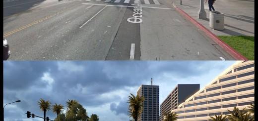 American Truck Simulator Virtual life vs Real!-5