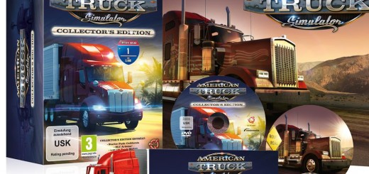 Unboxing American Truck Simulator Collectors Edition