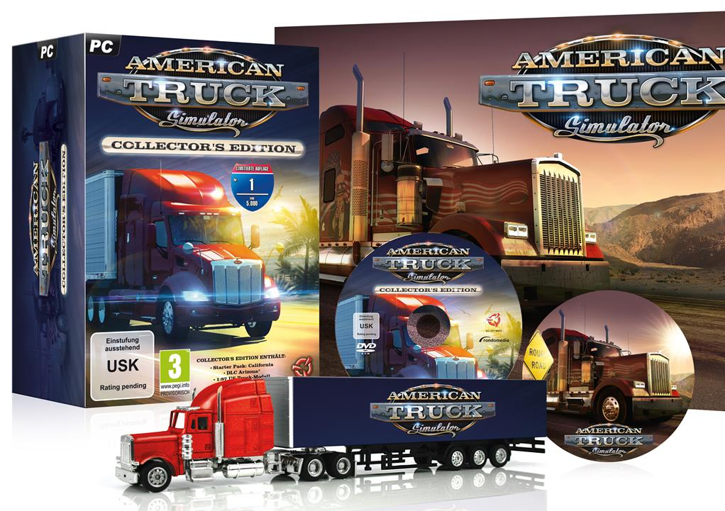 American Truck Simulator Collector 39 s Edition