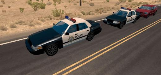 AI Police Texture