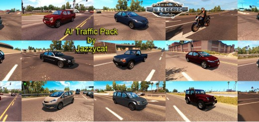 AI TRAFFIC PACK FOR BY JAZZYCAT V1.0