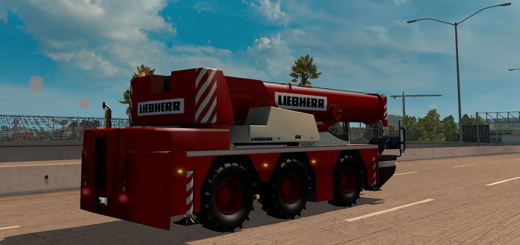 AI Traffic Cranetruck for ATS by Solaris36 2
