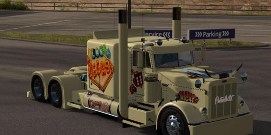 American Truck Simulator Las Vegas Skin