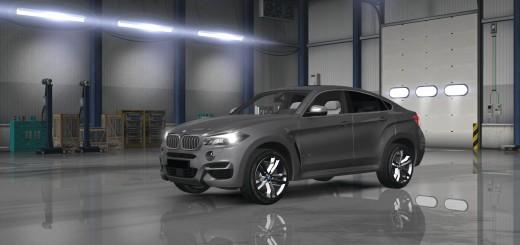 ATS BMW X6M 2015 + BambiTrailer v2.0-1