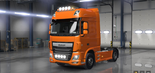 ATS DAF XF Euro 6 with all Cabins & Accessories 3