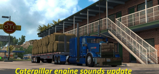 BIG CATERPILLAR ENGINE SOUNDS PACK