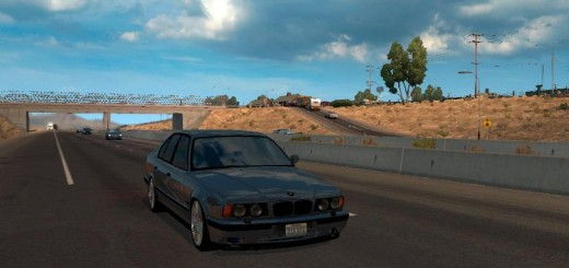 BMW E34 M5 AI TRAFFIC