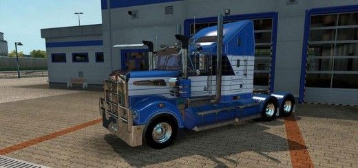 Blanch Skin for the Kenworth T908 2