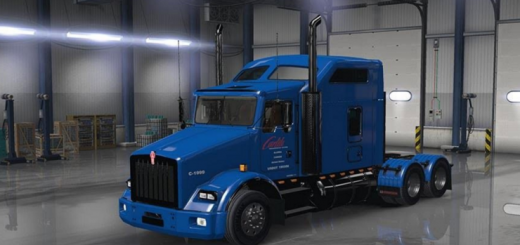 CARLILE FOR THE KENWORTH T800 SKIN