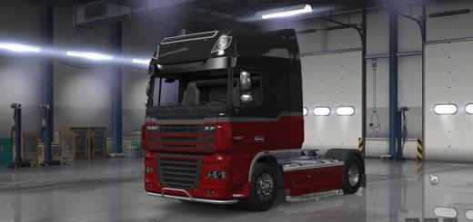 Daf XF in American Truck Simulator! Beta-2