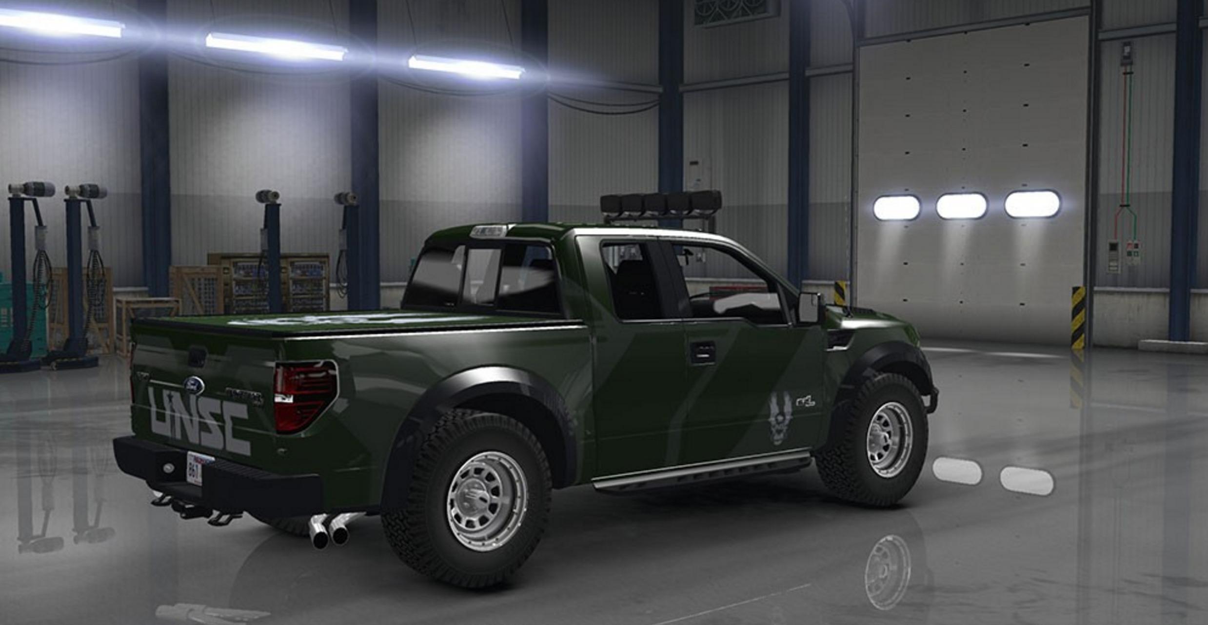 Ford F150 Svt Raptor V 1 4 American Truck Simulator Mod
