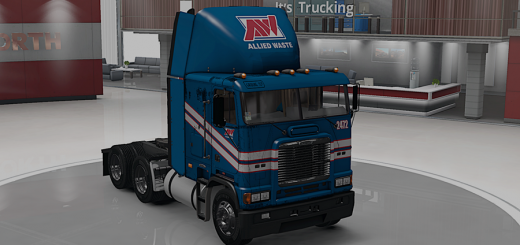 Freightliner FLB Allied Waste Services Skin