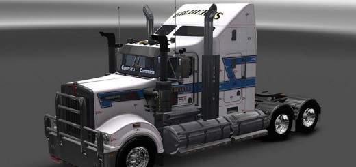 Gilberts Skin for the Kenworth T908
