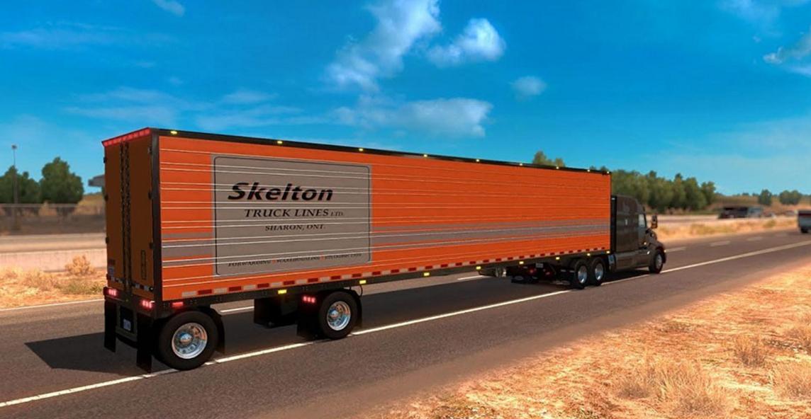 Great Dane Spread Axle - American Truck Simulator mod / ATS mod