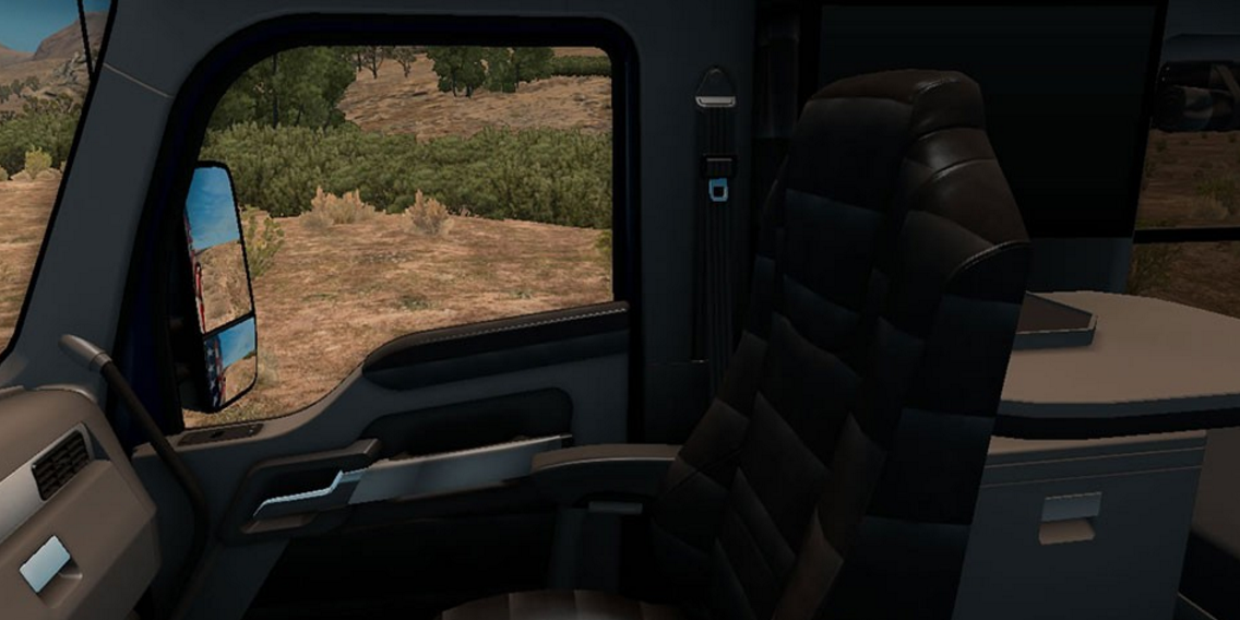 Kenworth T680 Interior 1 ...