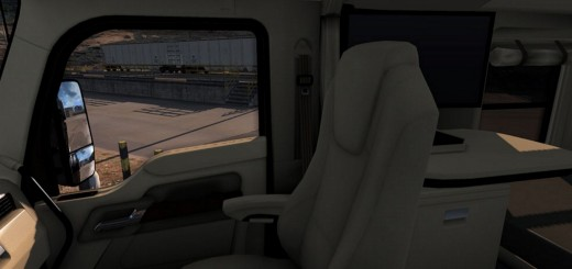 Kenworth T680 Lux Interior 2