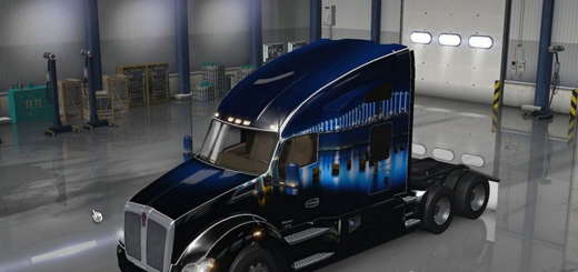Kenworth T680 San Francisco Bridge Skin1