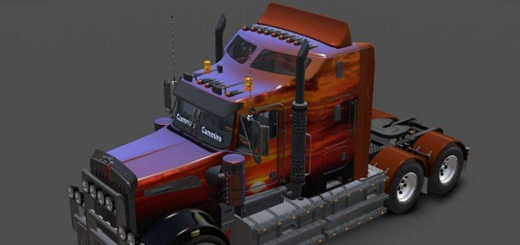 Kenworth T908 Sunset Metallic Skin-1