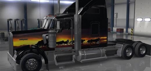 Kenworth W900 Sunset Skin 2