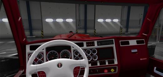 Kenworth W900 Truck Interior 3