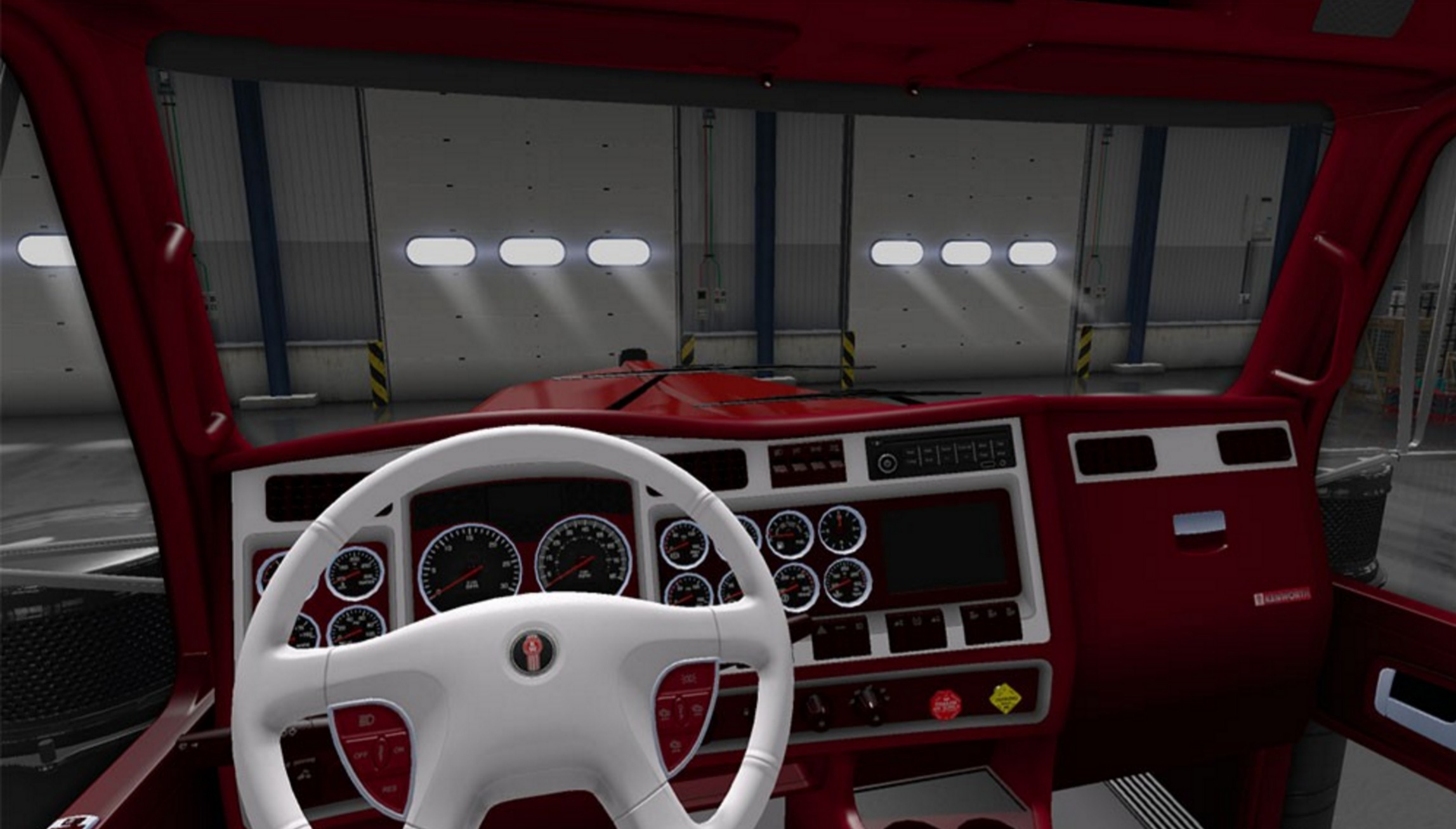 Image Gallery Kenworth Truck Interiors