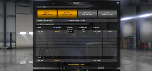 Klaas' Economy Mod v 1.1.7