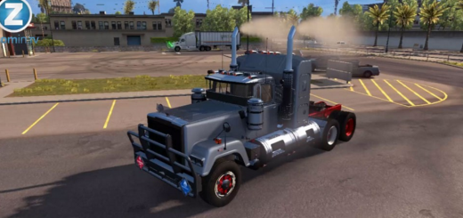 MACK SUPERLINER WITH SMOKE 1