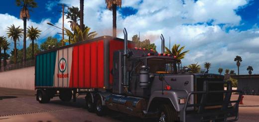 Mack Superliner Deluxe for ATS (by H.Trucker)