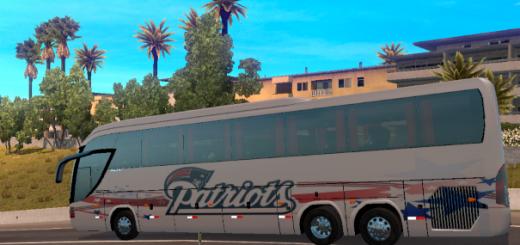 Mascarello Roma 370 New England Patriots Bus  2