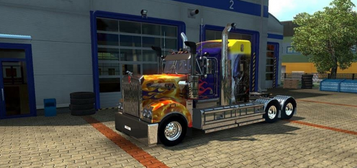 MegaTilt Transformer skin for the Kenworth T908 2