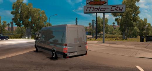 Mercedes Sprinter LWB v 1.0 2
