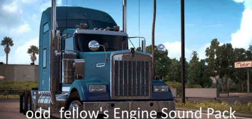 Odd_fellow's Engine Sound Pack for Kenworth W900 by SCS