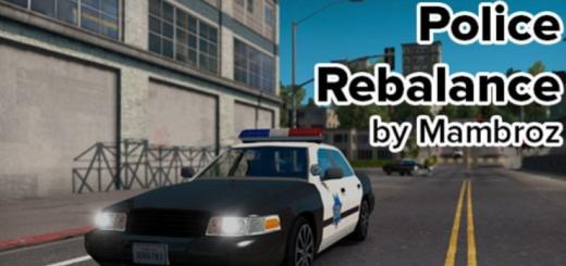 POLICE REBALANCE