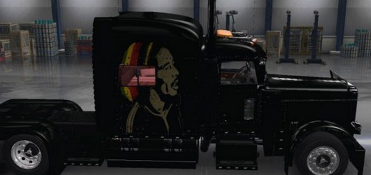 Peterbilt 389 Truck Bob Marley Skin
