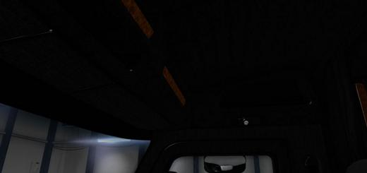 Peterbilt 579 Blackout Interior 2