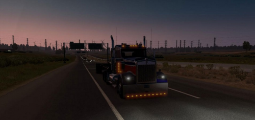 REALISTIC ENGINES FOR PETERBILT 579, KENWORTH T680 AND W900